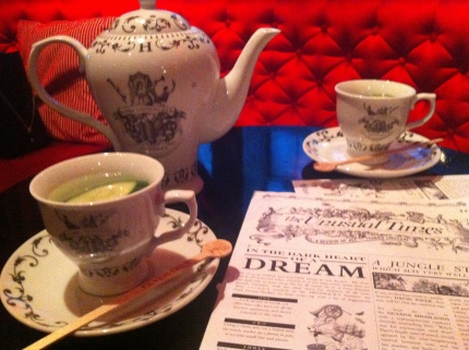 hendricks tea!